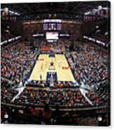 Virginia Cavaliers John Paul Jones Arena Acrylic Print by Replay Photos