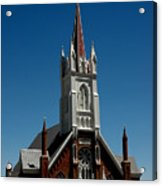 Virginia City Church St Mary Acrylic Print