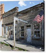 Virginia City Ghost Town - Montana Acrylic Print by Daniel Hagerman