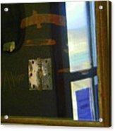 Virginia Dale Burn Relics Acrylic Print