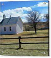 Virginia Dale Church Acrylic Print