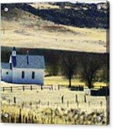 Virginia Dale Colorado Acrylic Print