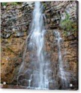 Virginia Falls - Glacier National Park Acrylic Print