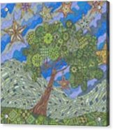 Virginia Quilts Acrylic Print