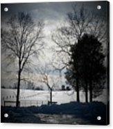 Virginia Snow Acrylic Print by Joyce Kimble Smith