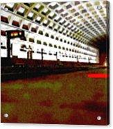 Virginia Square Metro II Acrylic Print