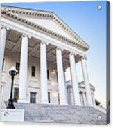 Virginia State Capitol Acrylic Print