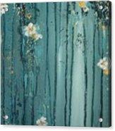 Viridian Bloom Acrylic Print