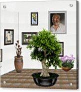 Virtual Exhibition -  Bonsai 13 Acrylic Print