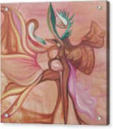 Virtue Of Woman Acrylic Print
