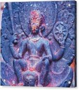 Vishnu Astride Garuda Acrylic Print