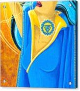 Vishuddha Throat Chakra Goddess Acrylic Print