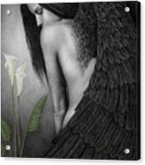 Visible Darkness Acrylic Print by Pat Erickson