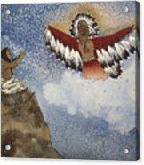 Vision Of The Eagle Spirit Acrylic Print