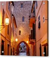 Visions Of Italy Archway Acrylic Print