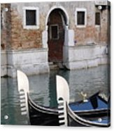 Visions Of Venice 3. Acrylic Print