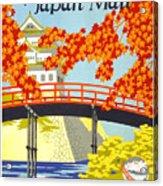 Visit Japan Acrylic Print
