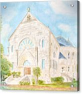 Visitation Monastery Mobile Alabama Acrylic Print