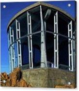 Visitor Center Atop Mt. Wellington Acrylic Print