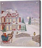Visitors - Christmas Eve Acrylic Print