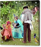 Visitors At A Fairy Blessing Acrylic Print