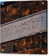 Vista House Acrylic Print