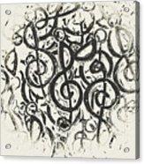 Visual Noise Acrylic Print