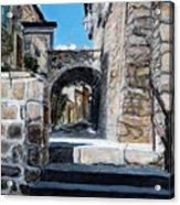 Viterbo Archway Acrylic Print