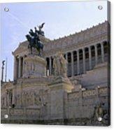 Vittorio Emanuele II Monument Acrylic Print