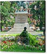Vittorio Emanuele II Statue Acrylic Print