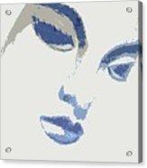Vivian Blue Acrylic Print