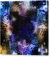 Vivid Abstract Acrylic Print