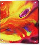 Vivid Abstract Vibrant Sensation Iv Acrylic Print