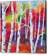 Vivid Autumn Acrylic Print
