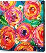 Vivid Flora Acrylic Print
