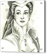 Vivien Acrylic Print
