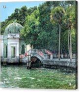 Vizcaya Bridge Acrylic Print