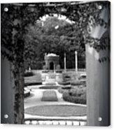 Vizcaya Garden Acrylic Print