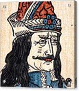 Vlad IIi (1431-1477) Acrylic Print