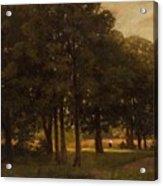 Vladimir Donatovich Orlovsky  Russian 1842  1914 Summer Landscape Acrylic Print