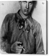 Vladimir Mayakovsky 1893-1930, Russian Acrylic Print by Everett