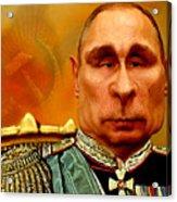 Vladimir Putin Acrylic Print