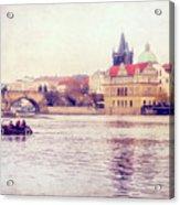 Vltava Ride Acrylic Print