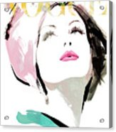 Vogue 3 Acrylic Print