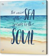 Voice Of The Sea Acrylic Print