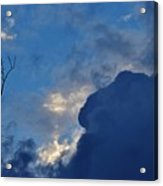 Volatile Autumn Weather Acrylic Print