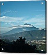Volcan De Agua Antiqua Gutemala 3 Acrylic Print