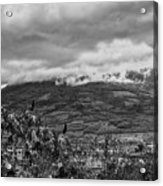 Volcan De Agua - Ciudad Vieja I Acrylic Print