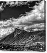 Volcan De Fuego - Bnw - Antigua Guatemala Acrylic Print