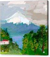 Volcanes Sur De Chile Acrylic Print